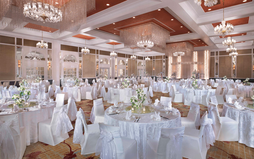 InterContinental Singapore ballroom