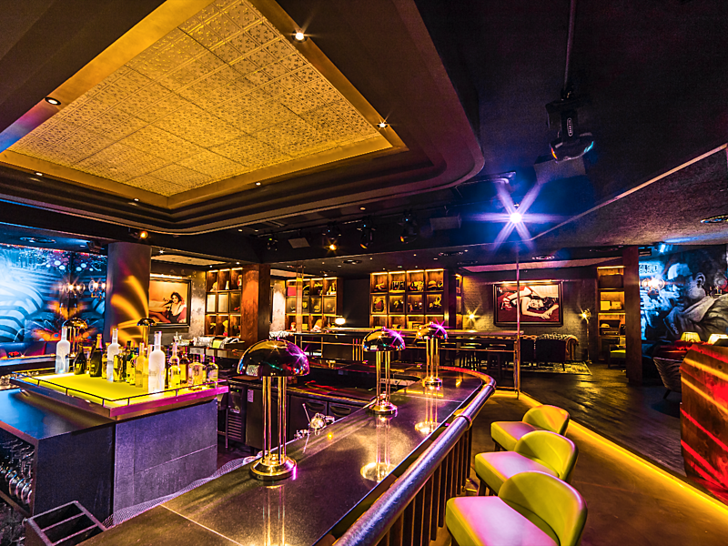 Venuerific venue, LuLu's Lounge, best bar in Singapore for Halloween party