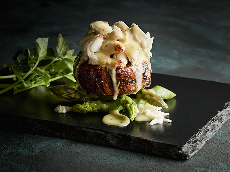 delicious menu from morton's the steakhouse singapore