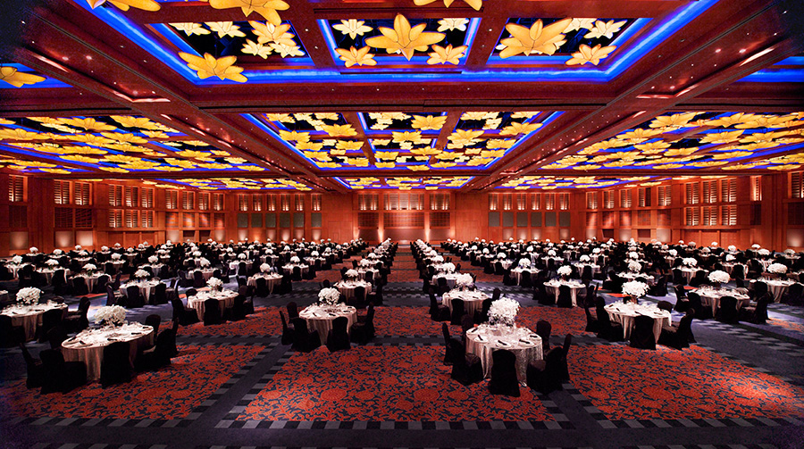 Resort World Sentosa Singapore ballroom for wedding party