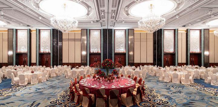 shangri la hotel singapore ballroom for private wedding