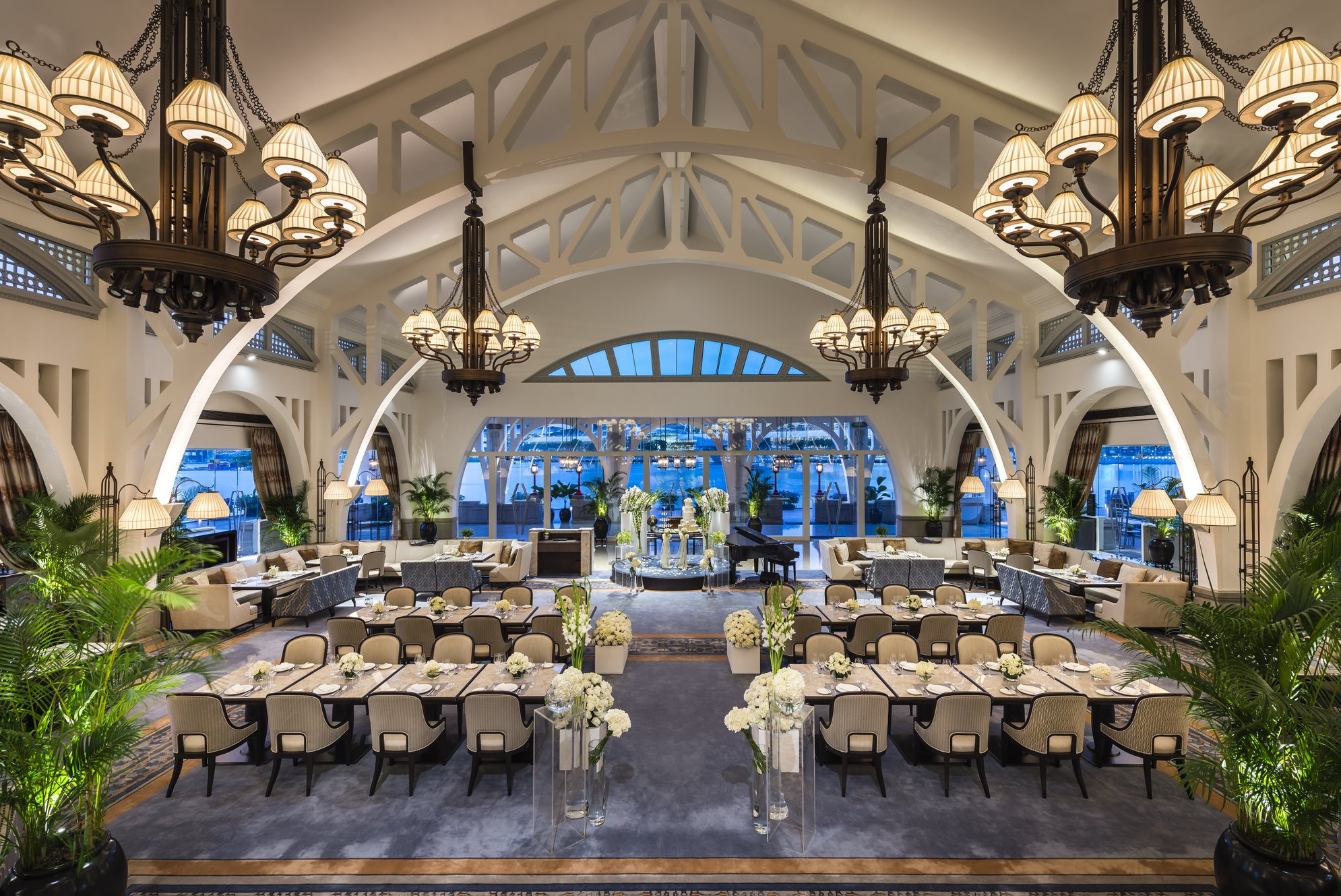 Clifford Pier The Fullerton Bay Hotel Singapore beautiful ballroom