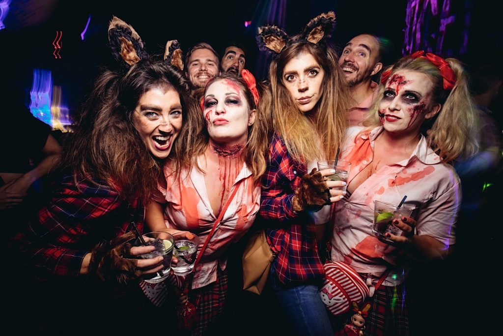 Rouge Grossery Store, halloween party singapore, venuerific