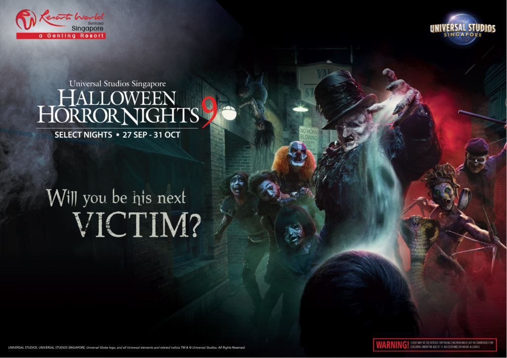 halloween horror night universal studio singapore