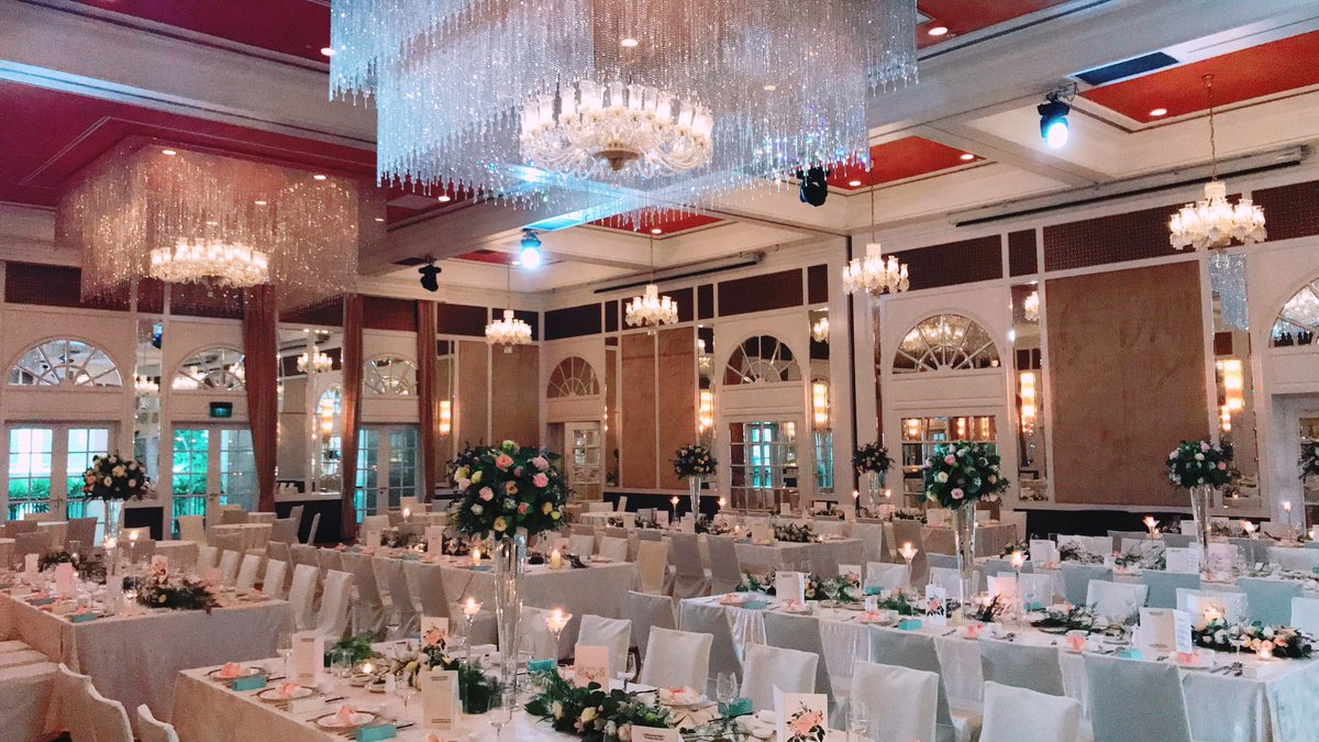 InterContinental Singapore wedding decoration