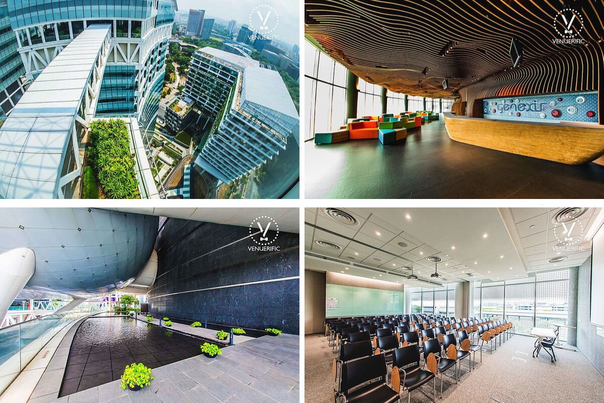 four JTC building venue singapore