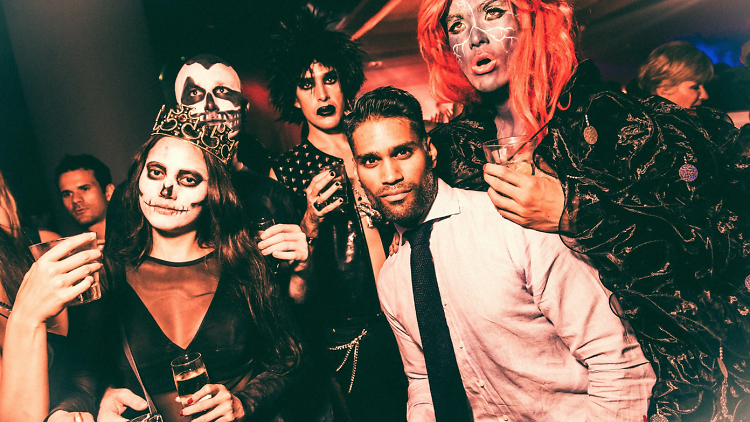 creepy halloween party from lulu's lounge singapore