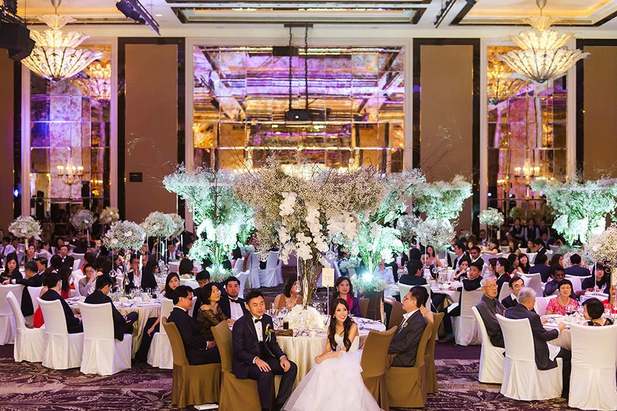 The St. Regis Singapore wedding party