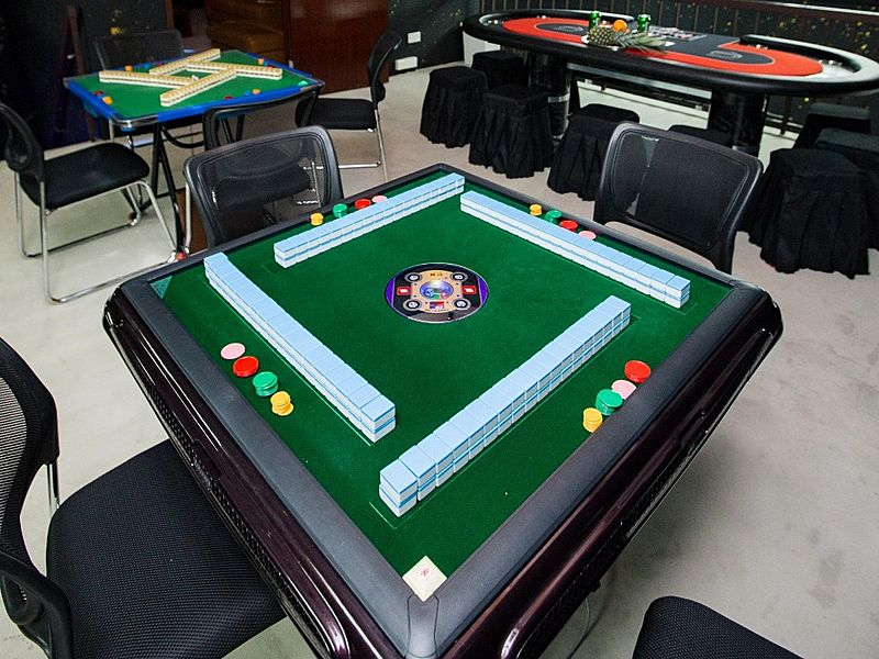 event space with table game majong singapore