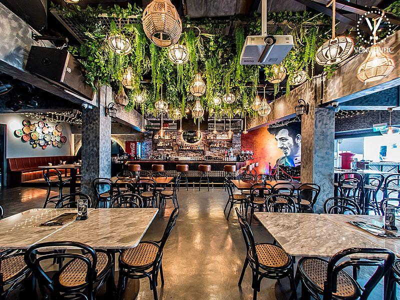 gabbar best indian restaurant singapore with nice interior