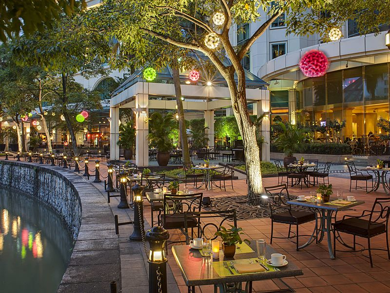 cool outdoor event space by the river singapore