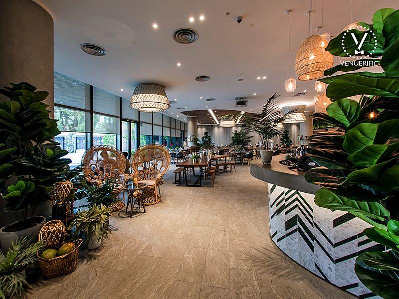 native kitchen tropical venue rental singapore
