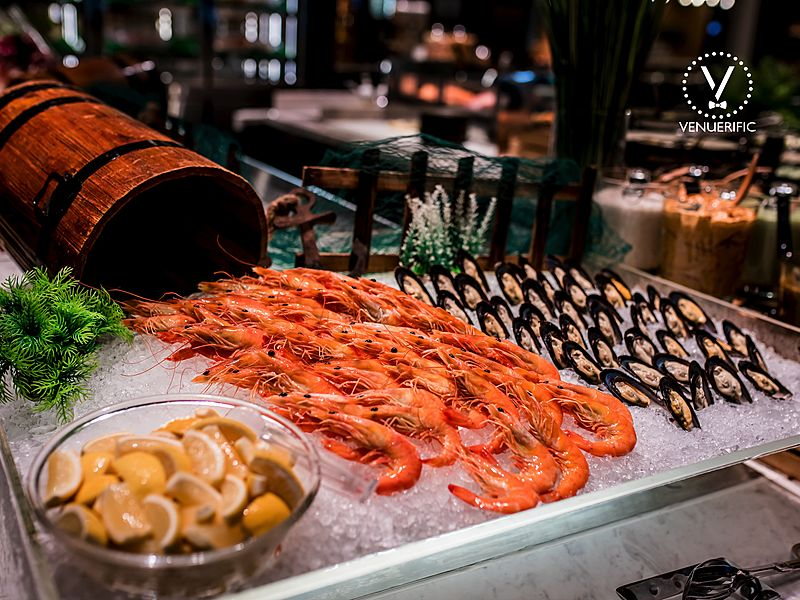 the orchard cafe fresh seafood buffet