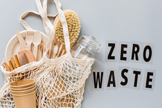 zero waste with reusable tableware