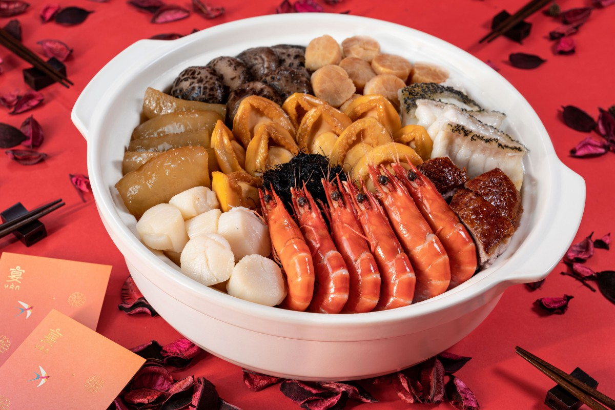 seafood dishes for Chinese new year celebration Singapore