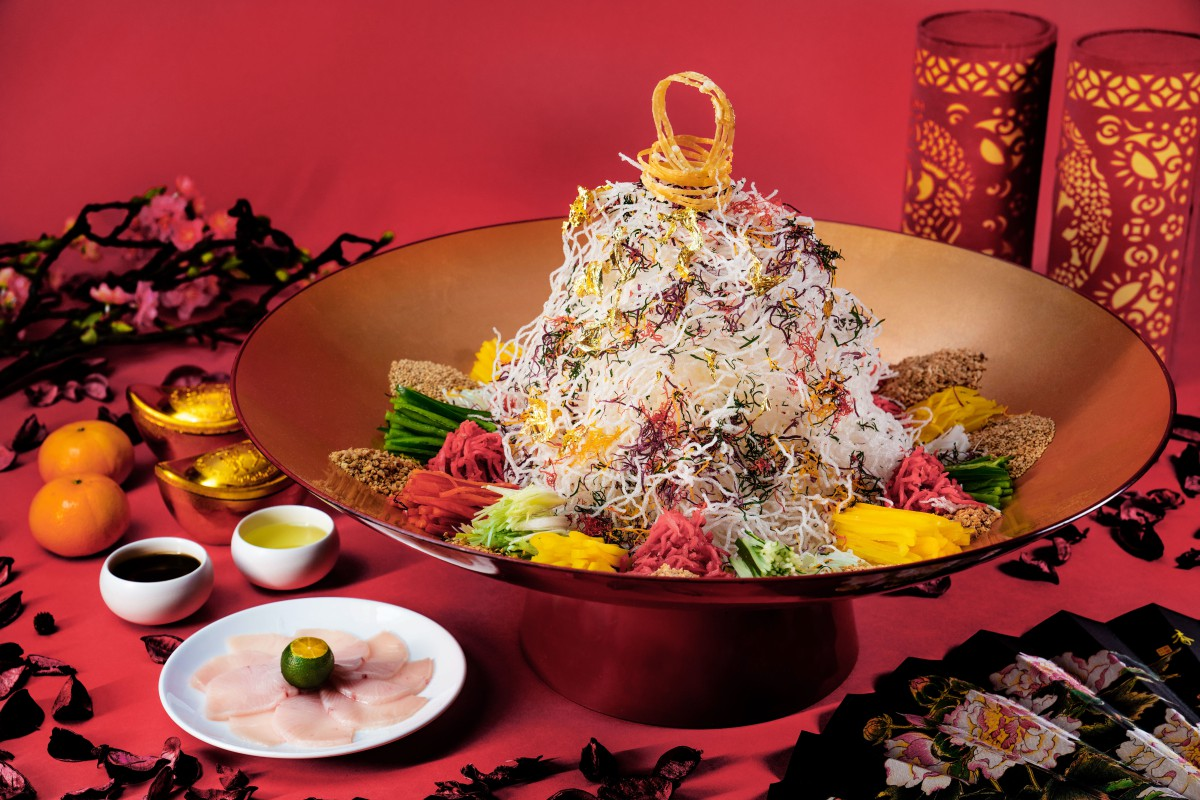 chinese new year food in Singapore