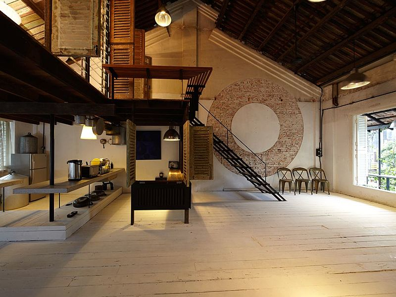 quaint lodging with a rustic charm