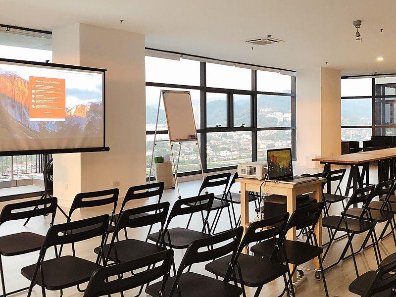 seminar style setup for cloud 16