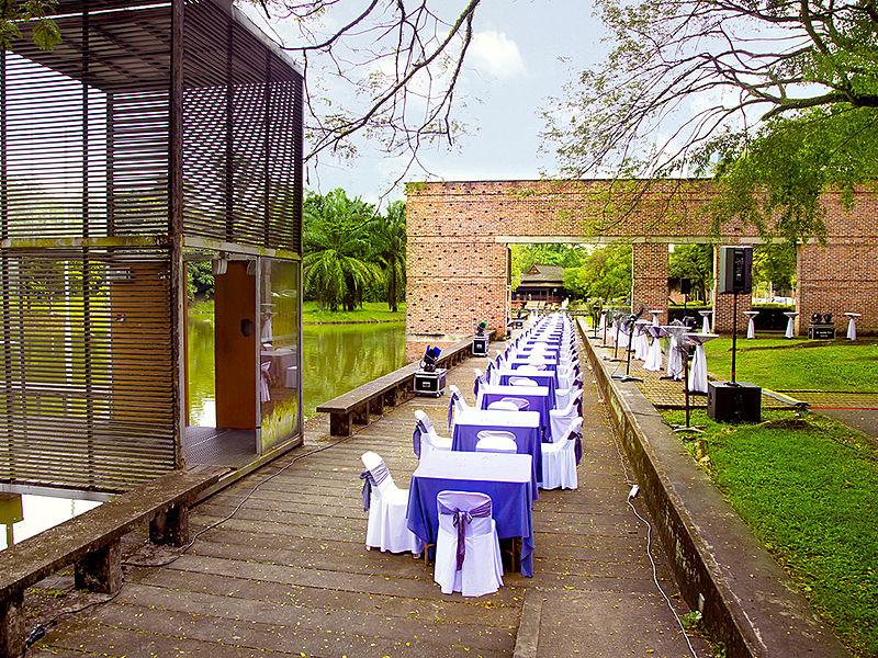wedding event venue at KLPAC