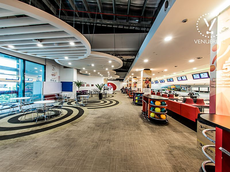 biggest bowling venue in Singapore