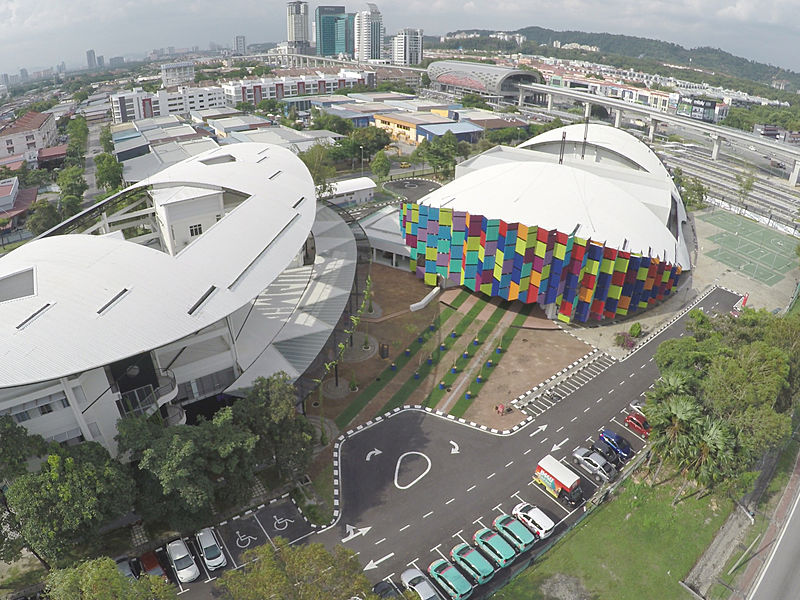 Sports hub for events