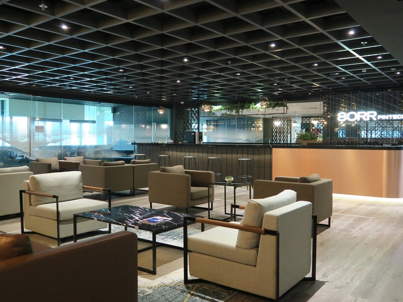 80RR Fintech Coworking Space Lounge