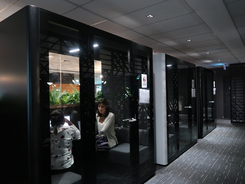 Private rooms in 80RR Fintech Coworking