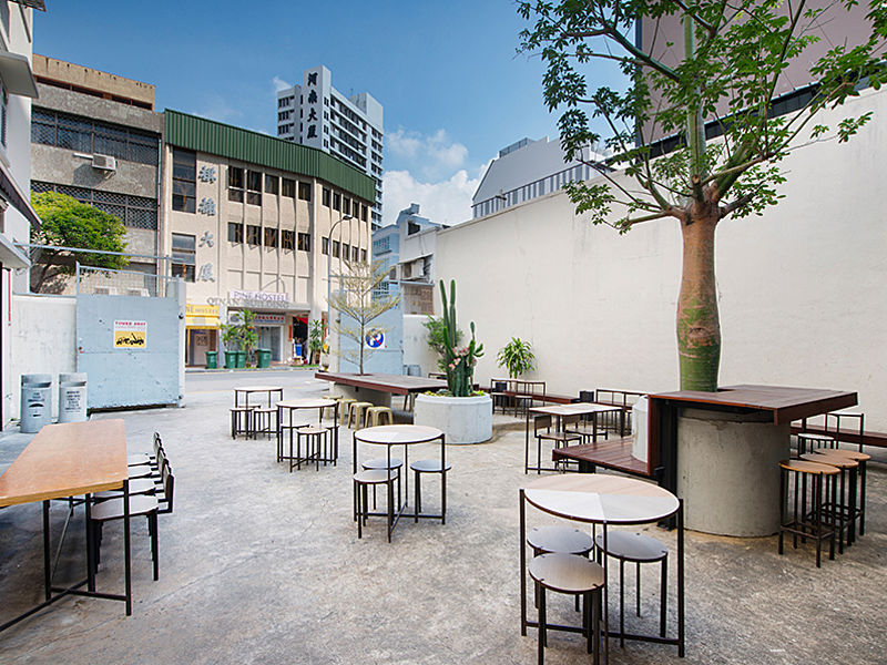 CSHH Coffee Bar Courtyard
