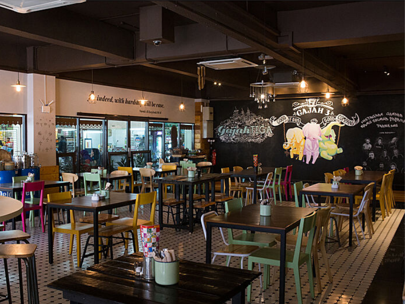 quaint cafe for birthday celebrations
