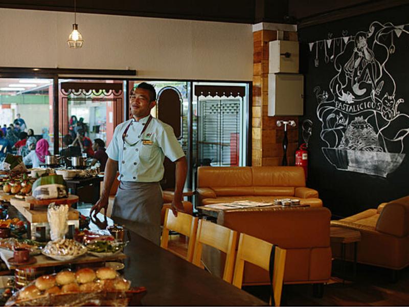 Good food at Gajah Tiga Cafe