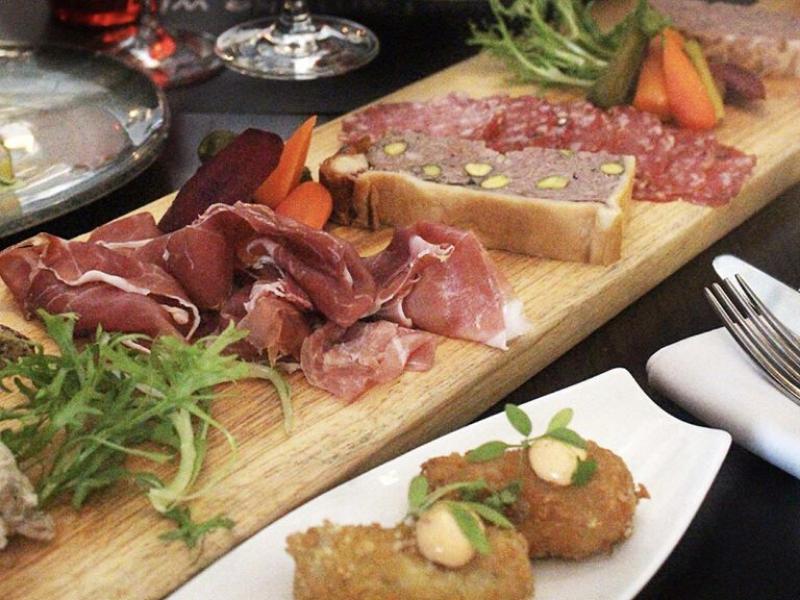 Valentine's Day menu at Ginett Restaurant and Wine Bar Singapore
