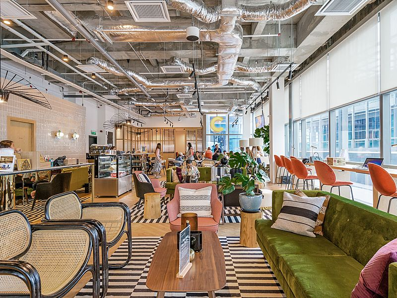 Coworking office at KL Golden Triangle