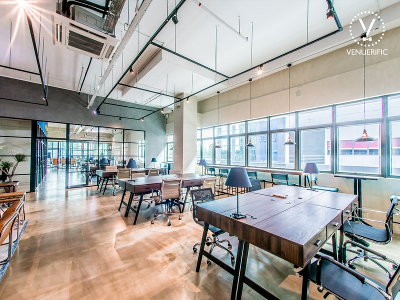 Hotdesk/Dedicated area at Workfriendly