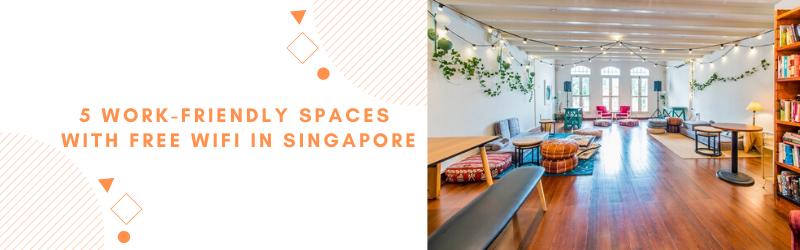 unique working spaces singapore