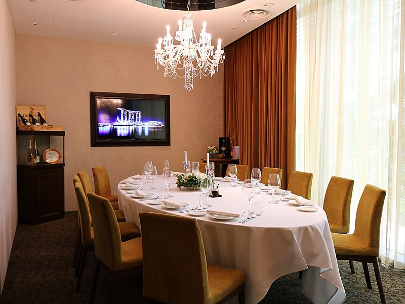 Private dining room at Grissini
